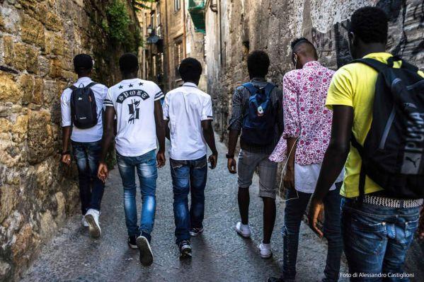 """Ragazzi Harraga al convegno """"Il modello Palermo. I tutori volontari e l'accoglienza dei minori stranieri ad un anno dalla legge 47/2017"""""""