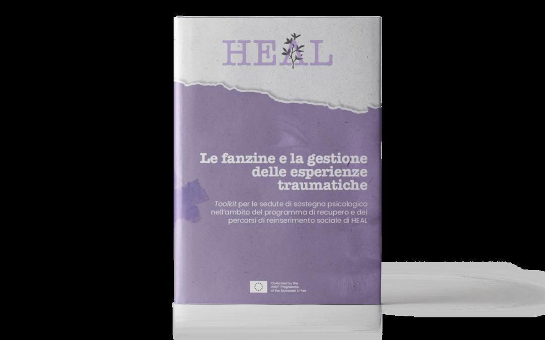 """HEAL – Toolkit per le sedute di sostegno psicologico """"Le fanzine e la gestione delle esperienze traumatiche"""""""