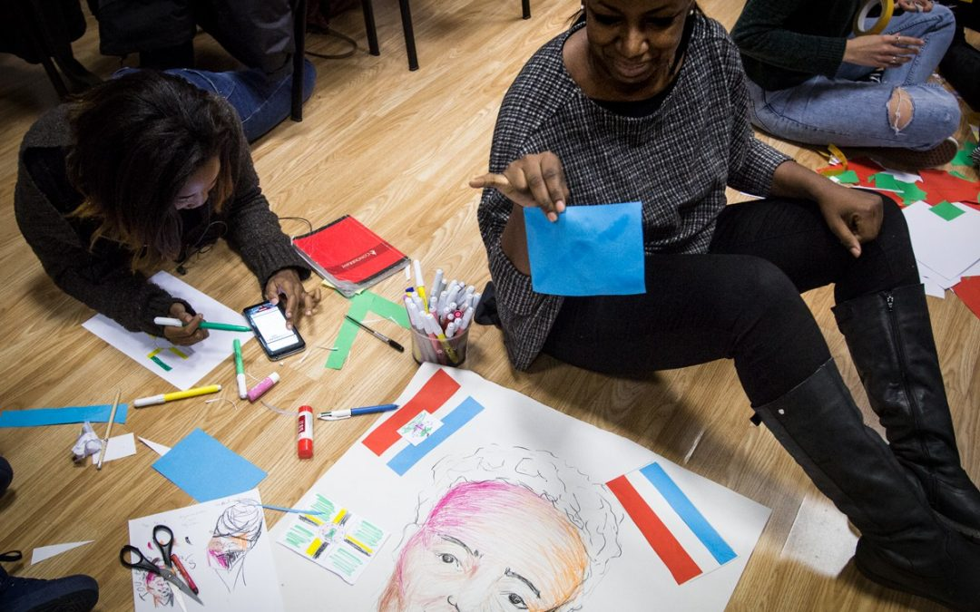 Active citizenship and participation through Art and creativity: In&Out training