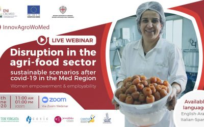 Women's employment in the agri-food sector: let's kick-off InnovAgroWoMed!