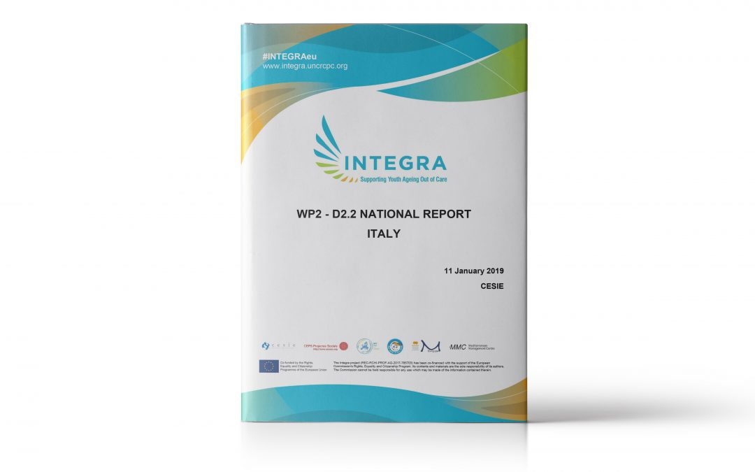 INTEGRA: Ageing – out youth towards autonomy needs report