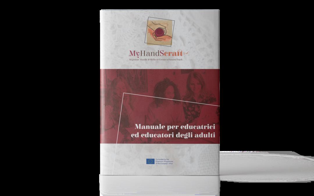 MyHandScraft: Manuale per Educatrici ed Educatori degli Adulti
