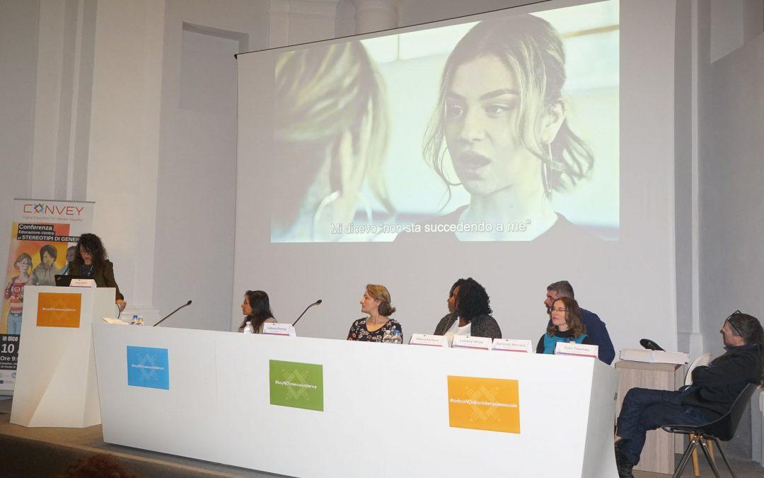 #IodicoNOallaviolenzasessuale: Esperti, docenti e studenti riuniti per la conferenza internazionale CONVEY