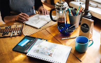 Illustration workshop – Valorizing yourself to make a fresh start