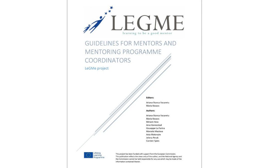 LEGME – Guidelines for mentors and mentoring programme coordinators