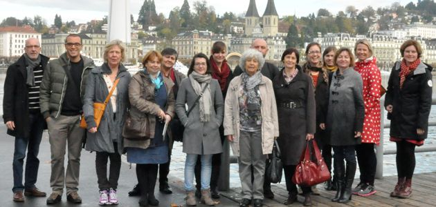 """Starting the project """"Learning to be a good mentor"""": Kick Off Meeting in Zug, Switzerland"""