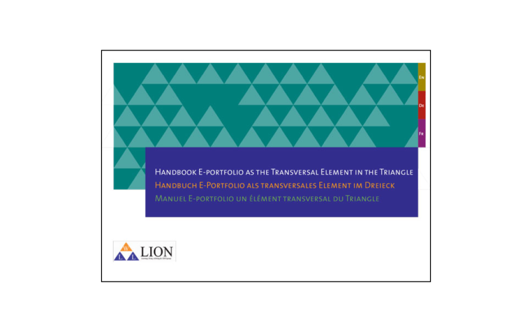 LION – Handbook E-portfolio as the Transversal Element in the Triangle