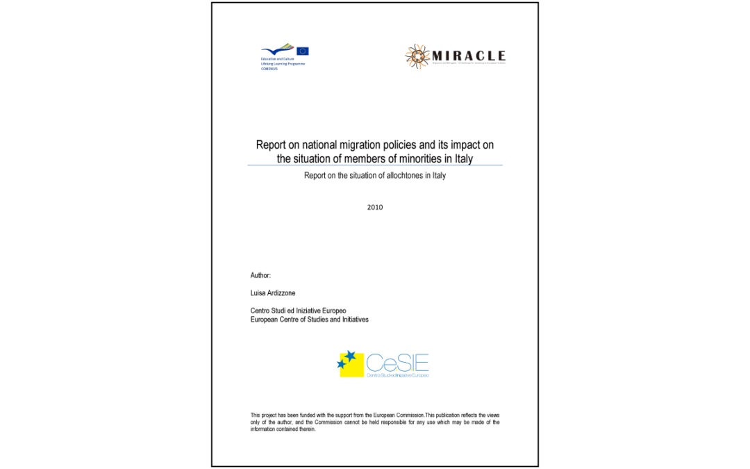 Miracle – Report on migration