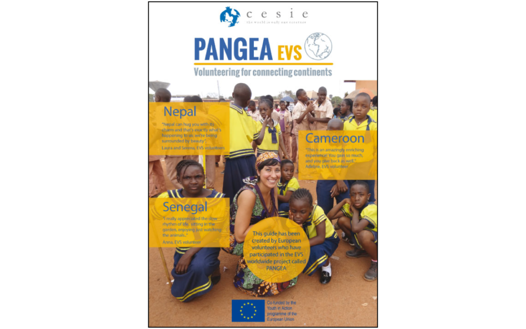 Pangea – Volunteering for connecting Continents – Handbook