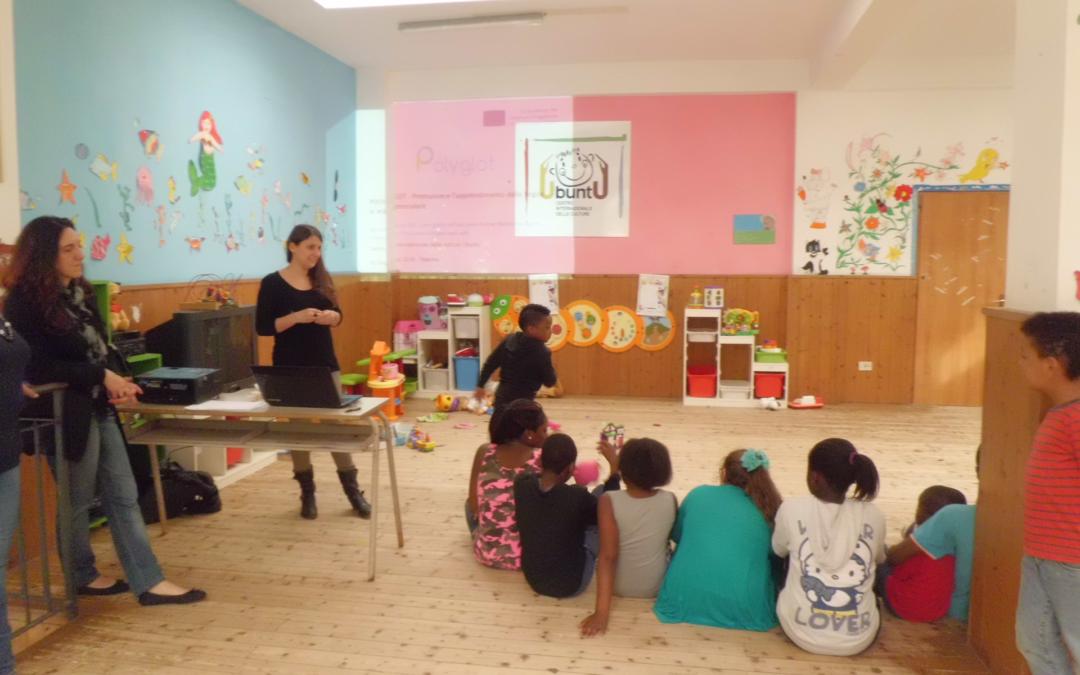 POLYGLOT: workshop all'asilo per promuovere il bilinguismo