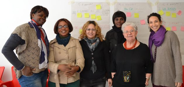 ROOT – End of our employability training for women