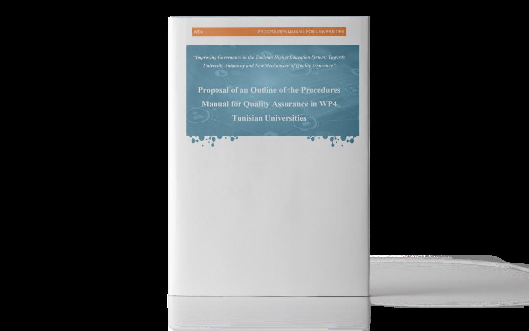 SAGESSE: Manuale sulle procedure di qualità per gli Istituti di Istruzione Superiore