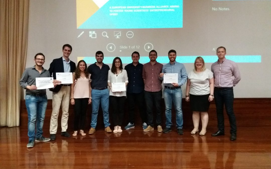 Great results for the young Italian PhD students participanting to the SCIENT Business Plan Competition