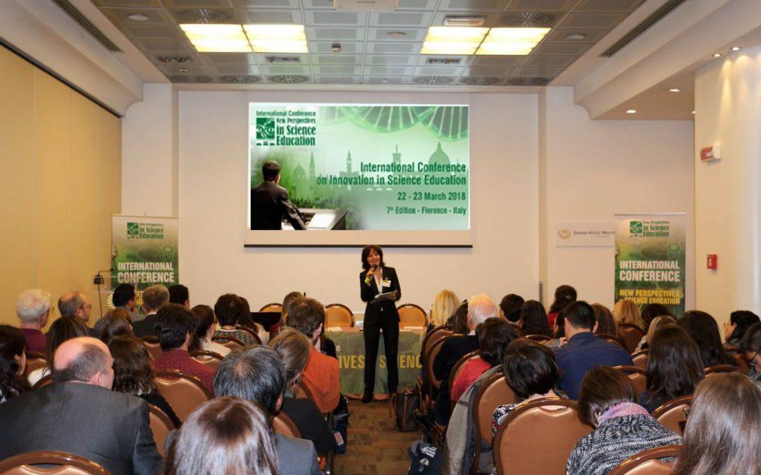 SciLit alla conferenza internazionale sulle nuove prospettive nel campo dell'educazione scientifica