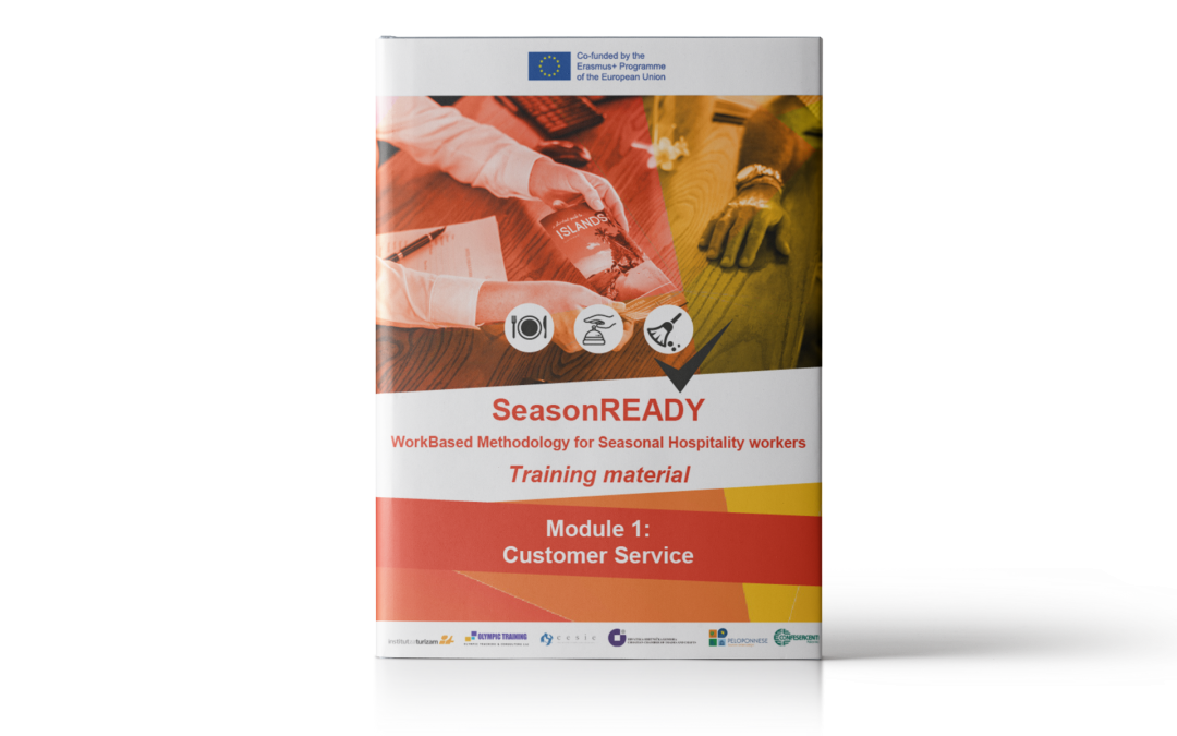 SeasonREADY: Materiale didattico sul servizio clienti per lavoratori che operano nel settore dell'ospitalità