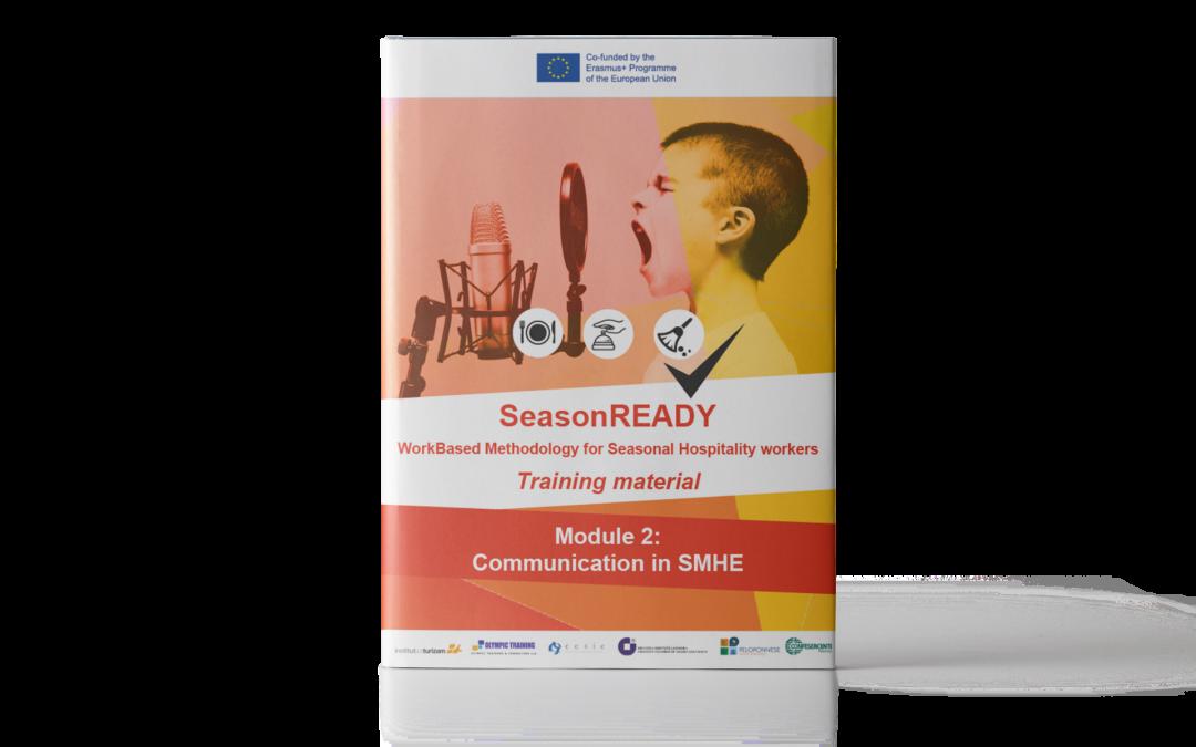SeasonREADY: Materiale didattico sulle strategie di comunicazione per le imprese del settore turistico