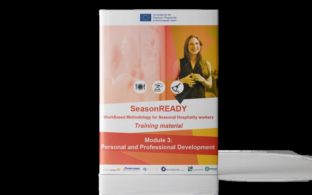 SeasonREADY: Materiale didattico sulla crescita personale e professionale
