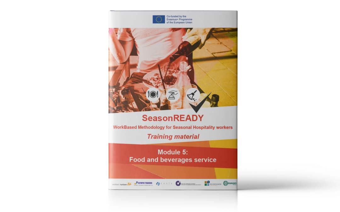 SeasonREADY: Food and beverage services Training material