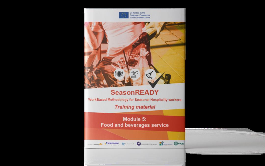 SeasonREADY: Materiale didattico sui servizi di ristorazione