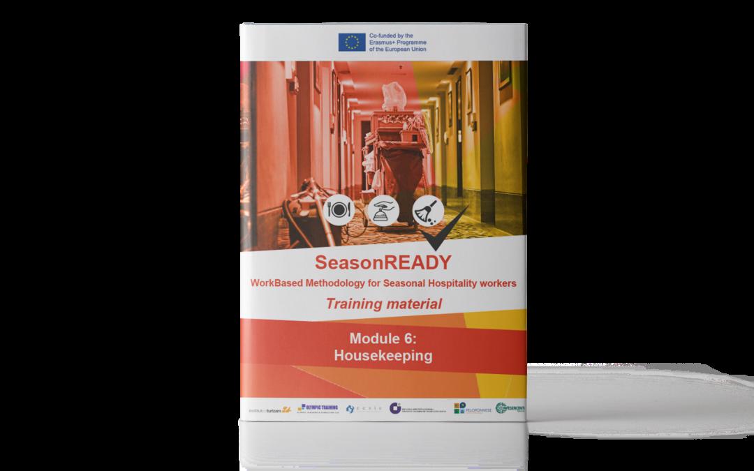 SeasonREADY: Materiale didattico sui servizi di pulizie e manutenzione