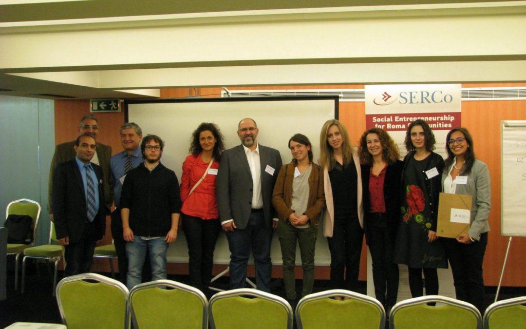 Social Entrepreneurship for Roma Communities: SERCo results