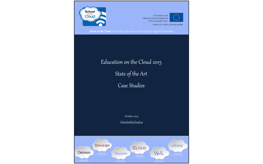 School on the Cloud – Education on the Cloud 2015 – State of the Art – Casi Studio
