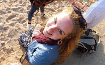 Between challenge and adventure – Solvita's Experience