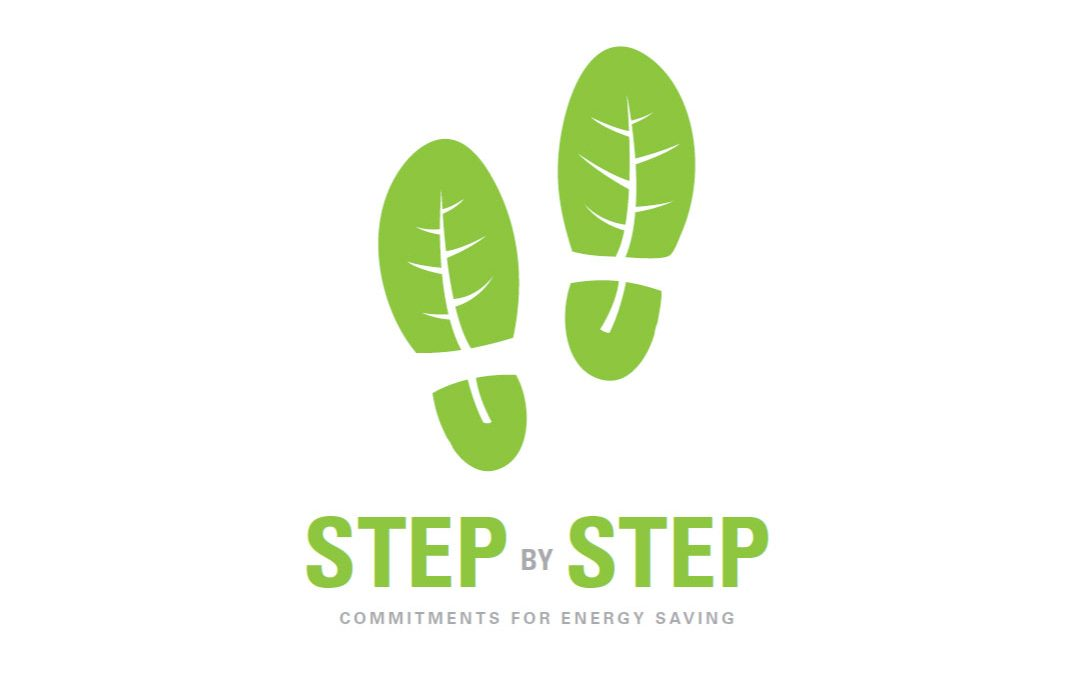 STEP BY STEP – Step by step commitments for energy saving