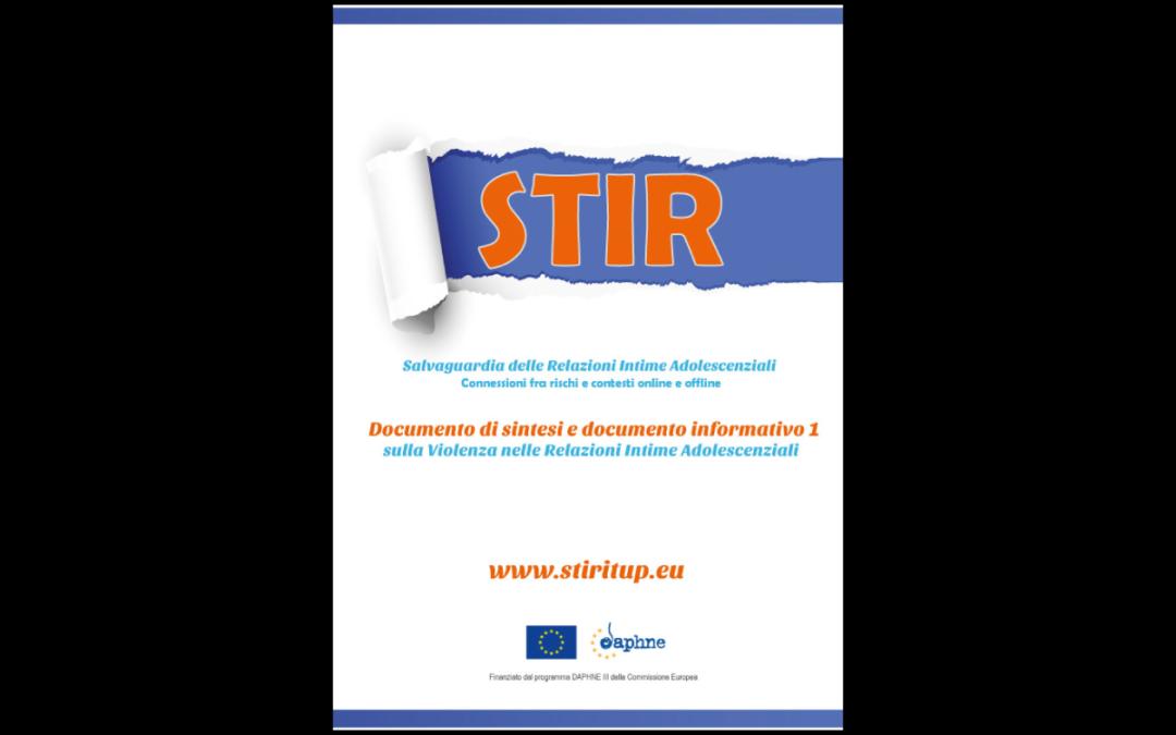 STIR – Documenti Informativi sulla Violenza nelle coppie di adolescenti