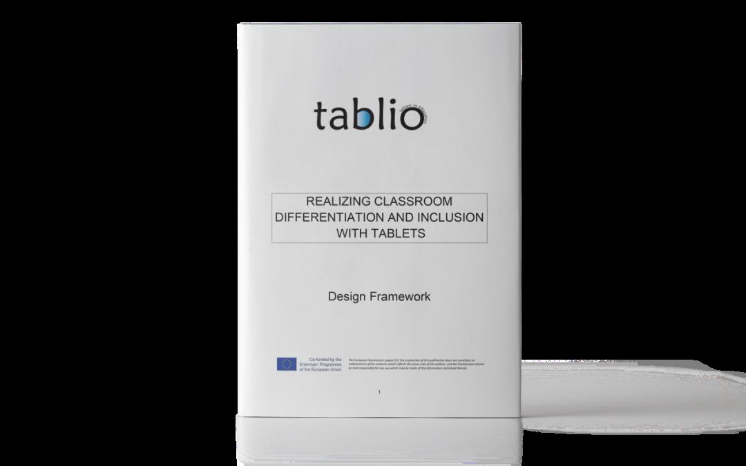 TABLIO: Quadro di riferimento per la progettazione didattica