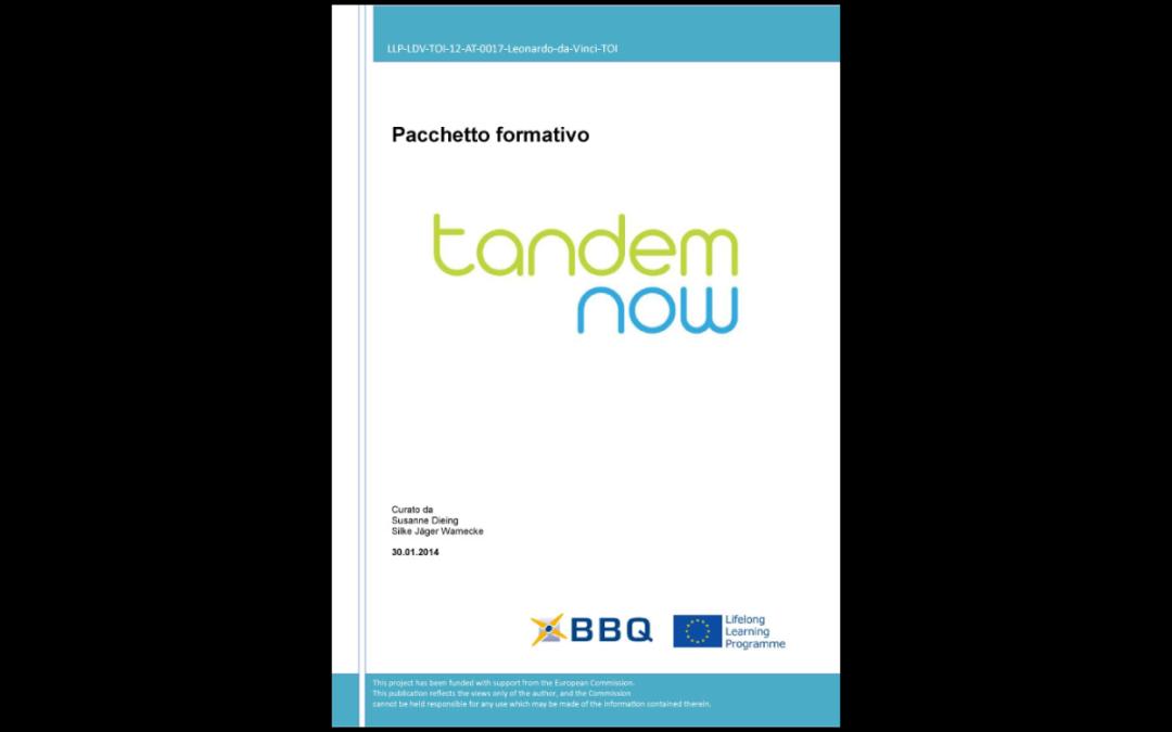 TANDEM NOW – Modulo Formativo per la formazione dei mentori