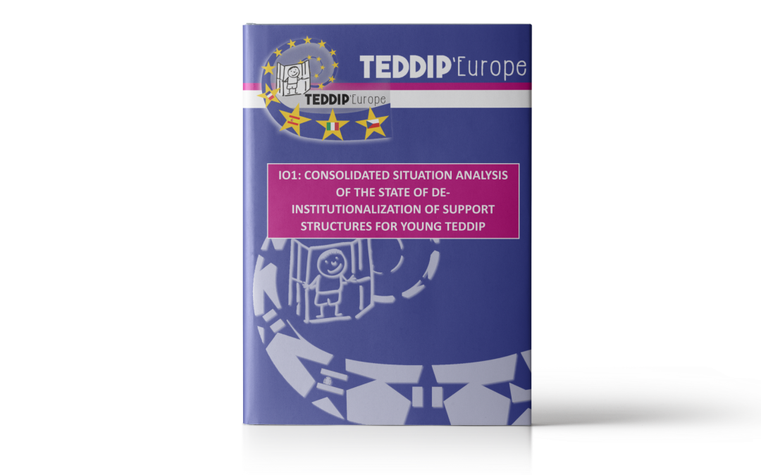 TEDDIP'Europe – Consolidated Analysis of the state of de-institutionalization of support structures for young TEDDIP