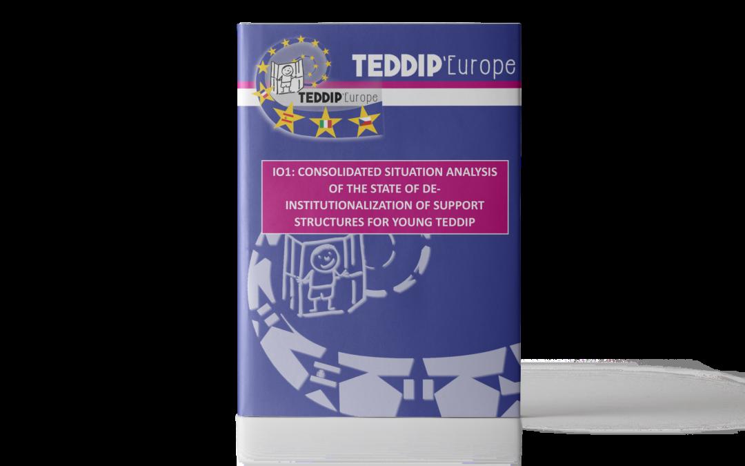 TEDDIP'Europe – Analisi dello stato di deistituzionalizzazione delle strutture di supporto per i giovani TEDDIP