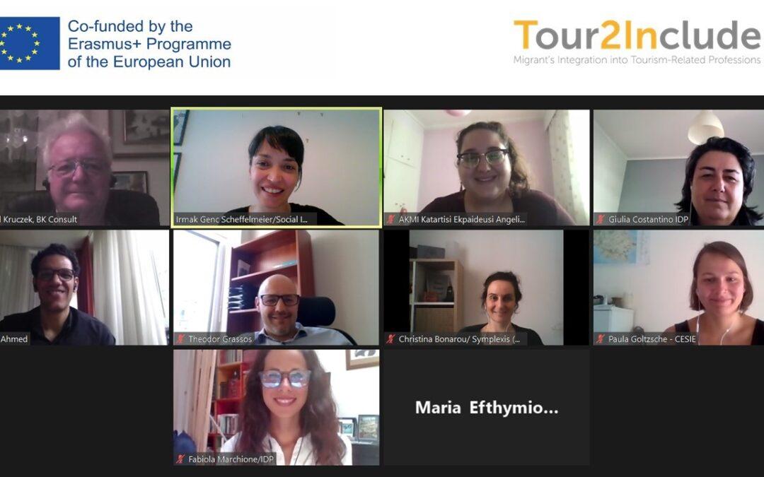 Tour2Include: incontro online per parlare della valutazione delle competenze degli immigrati