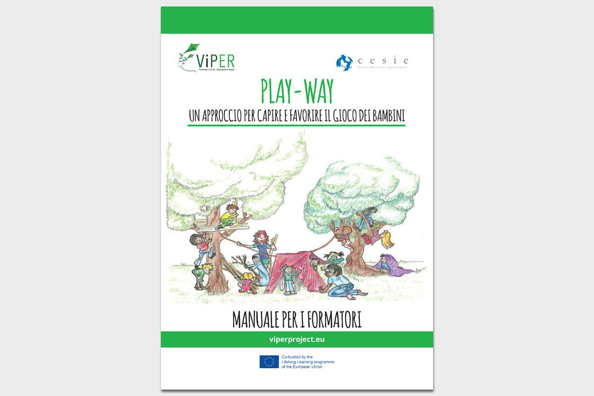 ViPER – Play-way: un approccio per capire e favorire il gioco dei bambini – Manuale per i formatori