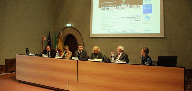 Convegno Internazionale Virtual Stages Against Violence svolto a Palazzo Steri