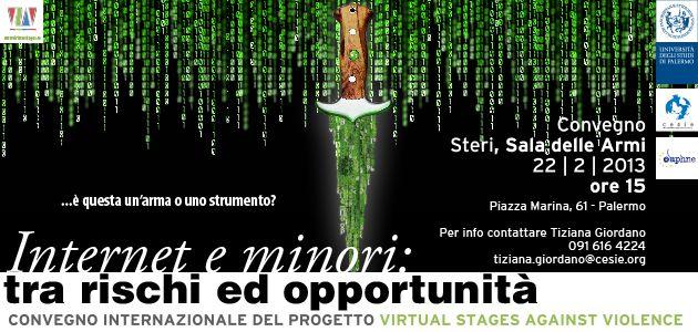 "Convegno Internazionale ""Virtual Stages Against Violence"""