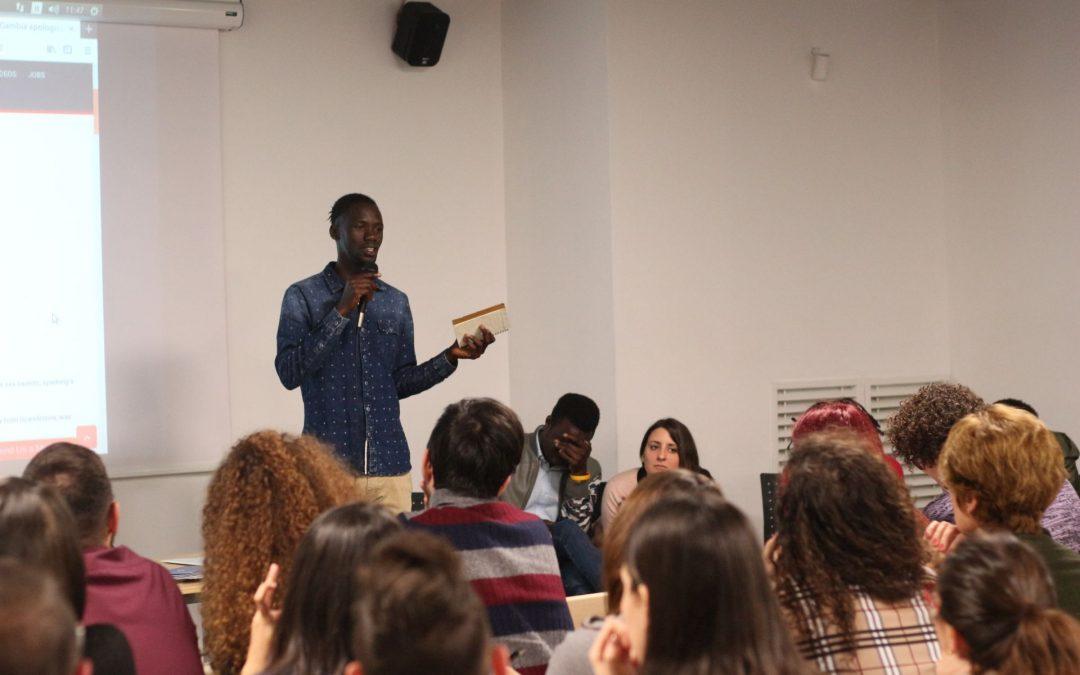 Diritti umani e inclusione: l'associazione Gambiana incontra gli studenti di psicologia