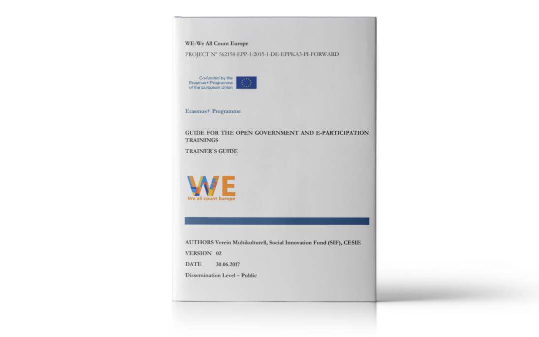 WECE: Guide for the open government and e-participation trainings