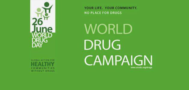CAPPYC a supporto della Giornata Internazionale contro l'Abuso e il Traffico di Droga
